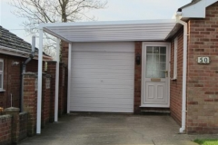 carport and garage door