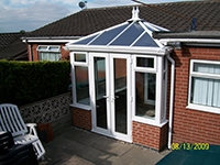 Building new conservatory