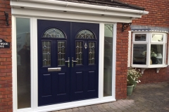 Double composite doors