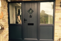 Contemporary style composite door