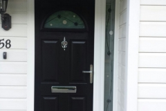 Edwardian style composite door