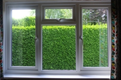 Energy saving upvc windows