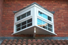 Feature window double glazing