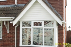 Energy saving leaded double glazing