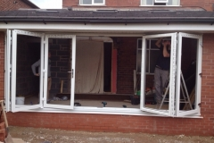 Bifold doors, french windows, patio doors