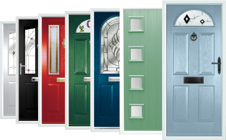The Window Repair Centre Ltd offer composite doors in a wide range of colours and styles