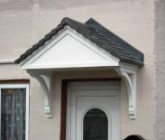 Window Repair Centre install over door canopies in a range of styles