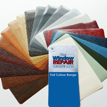 Coloured upvc options from the Window Repair Centre