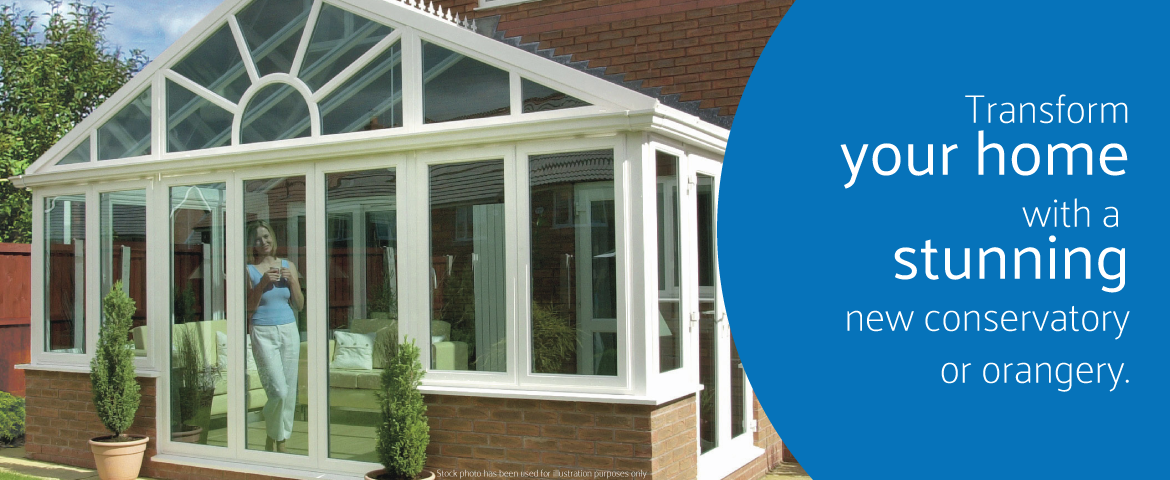 Transform your home with an orangery or conservatory from the Window Repair Centre