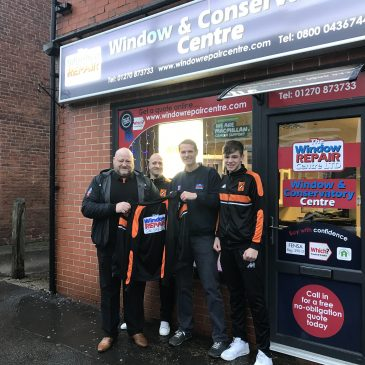 Window Repair Centre – Sponsors of Alsager FC