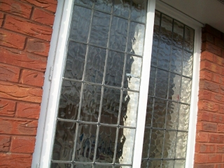 Leaded window repairs