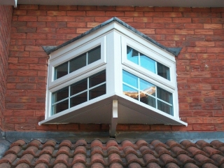UPVC feature window