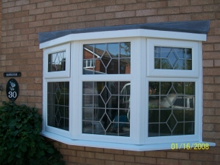 leaded upvc double glazing