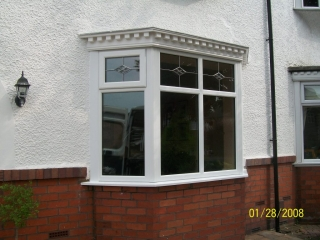 1930s style upvc bay windows