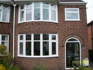 stylish upvc windows fitted in a 1930s property
