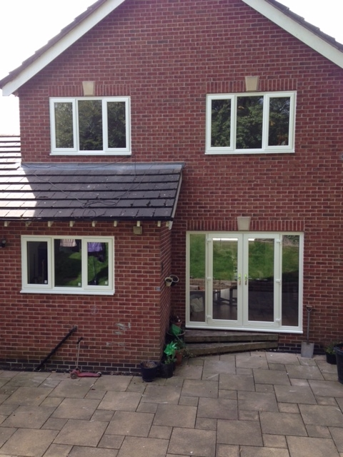 new upvc double glazing fitted by the Window Repair Centre