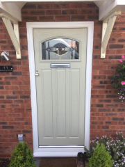 Green Solidor door