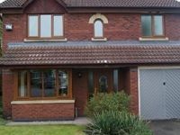 oak effect upvc windows and fascias