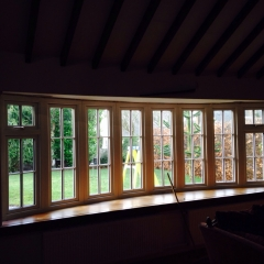 an internal view of a very large upvc bay window